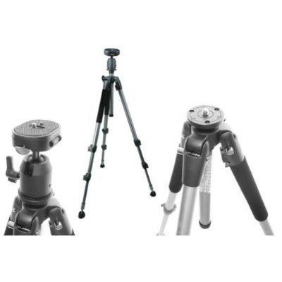 Ex-Pro Heavy DUTY Ball & Socket - Professional Build Tripod (Suitable for Nikon Coolpix, Canon, Casio Exilim, Fuji Finepix, Kodak Easyshare, Panasonic Lumix, Olympus, Pentax Optio, Samsung Digimax, Sony Cyber-shot / Alpha & more)