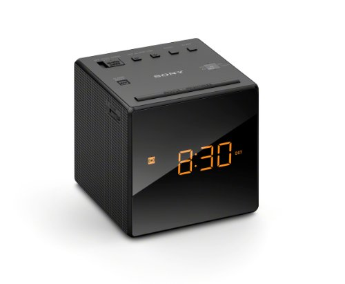 Sony ICF-C1 FM/AM Clock Radio - Black