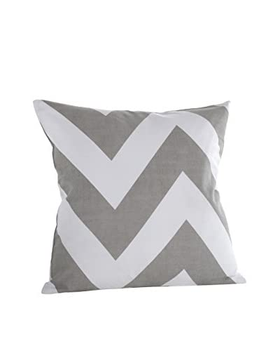 zestt Charlie Throw Pillow, Fog