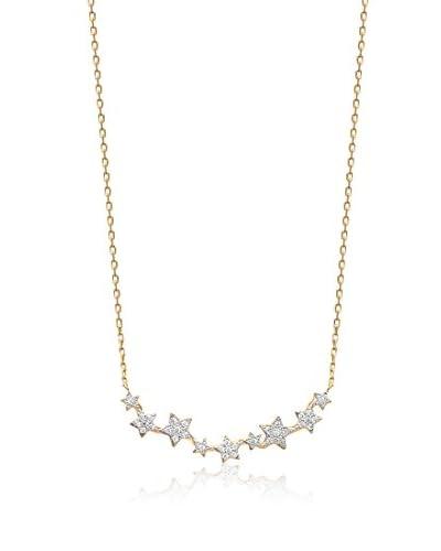 BALI Jewelry Collar metal bañado en oro 18 ct