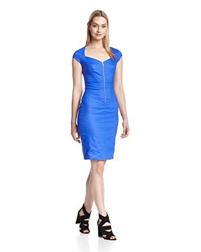 Nicole Miller Women's Front Zip Dress