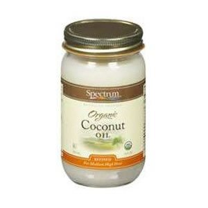 Spectrum Refined Organic Coconut Oil -- 14 fl oz ( Multi-Pack)