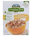 Cascadian Farm Organic Cereal, Cinnamon Crunch,9.2 Oz.
