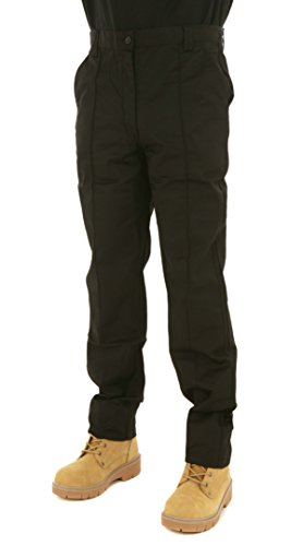 Mens Classic Workwear Trousers By SITE KING Size 28 to 56 With Button & Zip Fly
