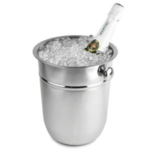 Stainless Steel Champagne Bucket 7.5ltr | BAR@drinkstuff Champagne & Wine Bucket, Bottle Cooler, Bottle Chiller, Ice Bucket from BAR@drinkstuff