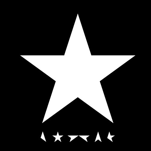 David Bowie Black Star Logo Vinyl Car/Laptop/Window/Wall Decal (David Bowie Decal compare prices)