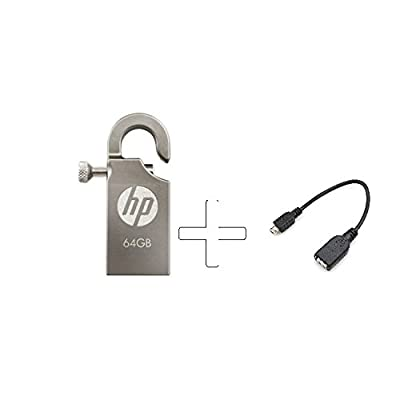 HP V251W 64GB USB2.0 Pen Drive With Free OTG Only From M.P Enterprise