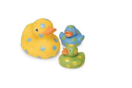 Mud Pie Baby Eieio Light-Up Bathtub Toys, Ducks,