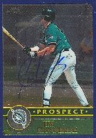 Jim Kavourias Jupiter Hammerheads - Marlins Affiliate 2003 Topps Chrome Autographed... by Hall of Fame Memorabilia