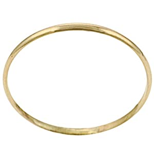 14K Goldfill Plain Band Ring (Hand-crafted)