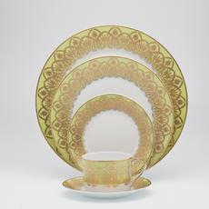 Royal Limoges Oasis green Salad bowl