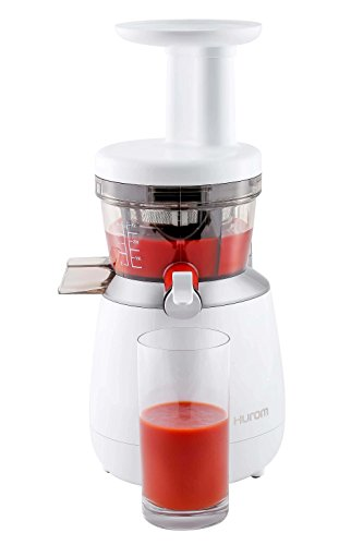 HUROM Personal Series HP Slow Juicer, White Masticating Juicer Reviews