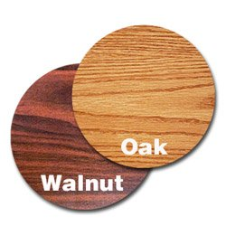 """30"""" Walnut/Oak Round Tabletop (06-0775) Category: Conference Room Table Tops"""