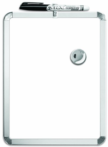 Board Dudes Metalix Magnetic Dry Erase Board 8.5 x 11 Inches (DDT37) (Board Dudes Magnetic compare prices)