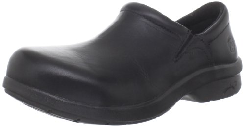 Timberland PRO Women's Newbury ESD Slip-On,Black,9.5 M US