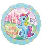 18 Inch My Little Pony Happy Birthday Foil Balloon