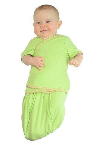 TrueWomb Daytime Weaning Swaddle - Mint - Newborn