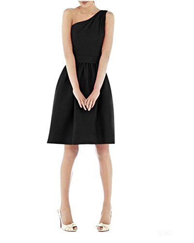 Apparelover Womens Chest Party Dress Black
