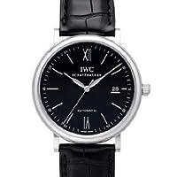 [アイダブリューシー]IWC 腕時計ポートフィノ・オートマティック SSx革ベルト 黒  IW356502 メンズ [メーカー保証付] [お取り寄せ品] [並行輸入品]