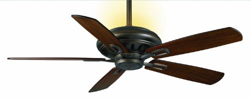 Casablanca Fan Company C31U73Z Holliston 60-Inch Ceiling Fan, Oil-Rubbed Bronze Finish with Walnut Blades
