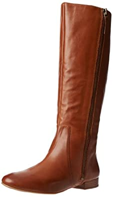 Nine West Women's Portn Riding Boot,Natural Leather,7 M US