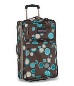 "JanSport Upright Wheeled Luggage Suitcase/Bag 19"" CHOCOLATE CHIP BUBBLES from JanSport"
