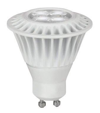 7 Watt - Led - Mr16 - Gu10 Base - 3000K Warm White - Flood - 800 Candlepower - 35 Watt Equal - 120 Volt - Tcp Led7Gu10Mr1630Kfl