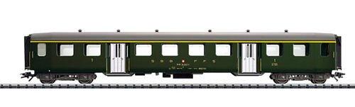 Trix Type A Lightweight Steel HO Scale Passenger Car