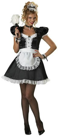 French Maid Designer Costume Adult