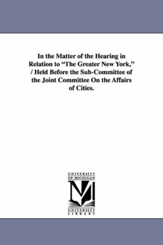 In the Matter of the Hearing in Relation to
