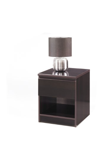 Tvilum Scottsdale 1-Drawer Nightstand, Espresso
