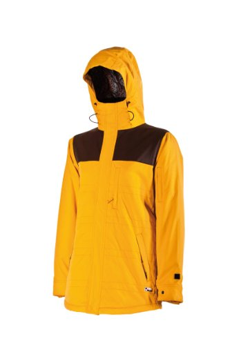 Nitro Snowboards Damen Jacke PERFECT KISS 13, gold dobby-coffe, S, 1131-873026