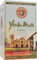 Wisdom Natural Yerba Mate Herbal Tea Unsweetened -- 25 Tea Bags