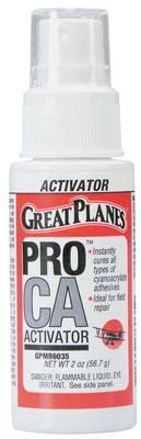 great-planes-pro-ca-activator-2-oz-w-pump-foam-safe