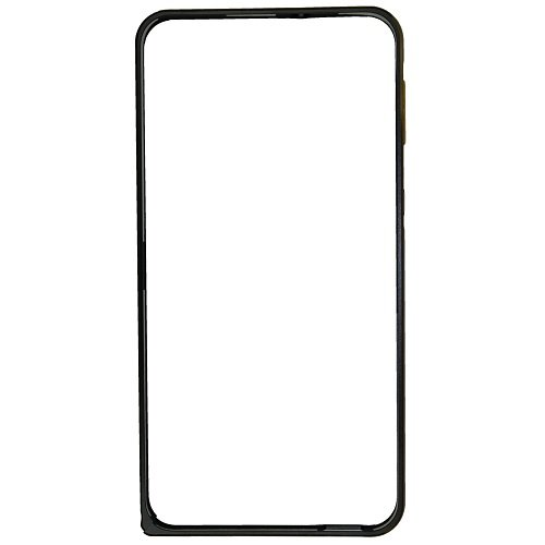 Casotec Metal Aluminium Bumper Frame Case Cover for HTC Desire 820 - Black