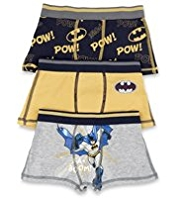 3 Pack Cotton Rich Batman™ Trunks