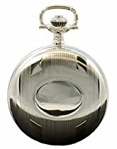 Plain Front 17 Jewel Full Hunter Pocket Watch PW51 - Perfect for Engraving