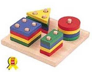 PLAN TOYS BR-39240300 GEOMETRIC SORTING BOARD - Buy PLAN TOYS BR-39240300 GEOMETRIC SORTING BOARD - Purchase PLAN TOYS BR-39240300 GEOMETRIC SORTING BOARD (Plan Toys, Toys & Games,Categories,Learning & Education)