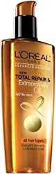 L Oreal Advanced Haircare Total Repair 5 Extraordinary Oil (all hair types) (Pack of 2)