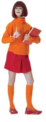 Rubie's Costume Scooby Doo Mystery Inc. Velma, Orange, One Size Costume