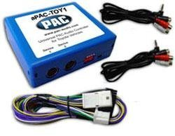 PAC aPAC-TOY1 Dual Auxiliary Audio Input for Select 2005¿2008 Toyota/Lexus Vehicles