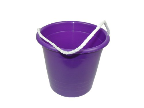 Romanoff Rope Pail:Purple