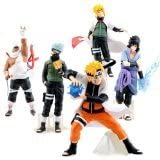 5pcs Naruto Anime Action Figures Toy Set by PSK limited