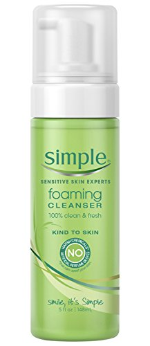Simple Facial Cleanser, Foaming 5 oz (Natural Facial Cleanser compare prices)