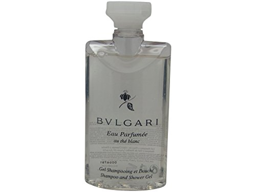 Bvlgari au the blanc (white tea) Shampoo and