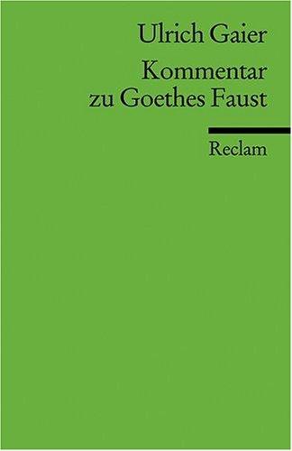 Kommentar zu Goethes