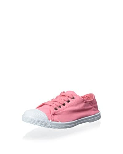 Natural World Women's Lace-Up Cap Toe Sneaker  [Coral]