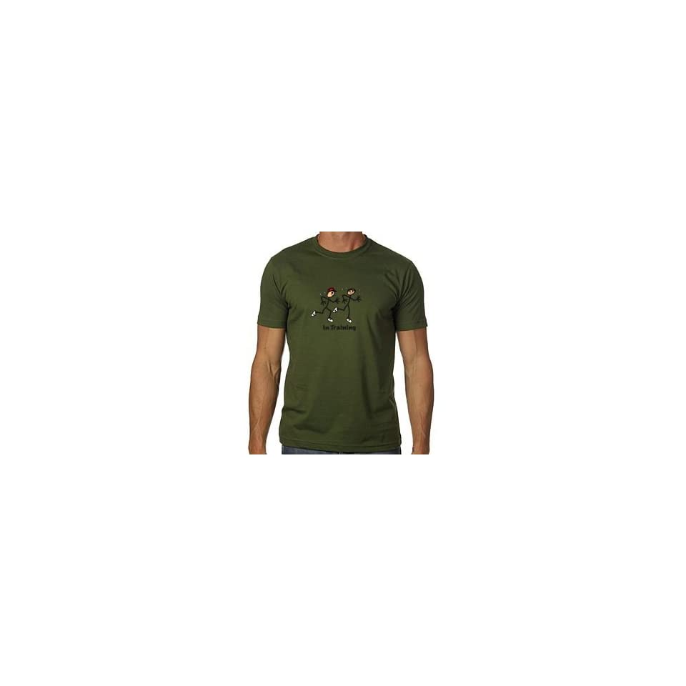 Stor in Style MUTOLV4 In training olive x large mens tee