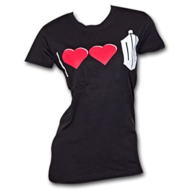 Doctor Who - I Double Heart Juniors T-Shirt