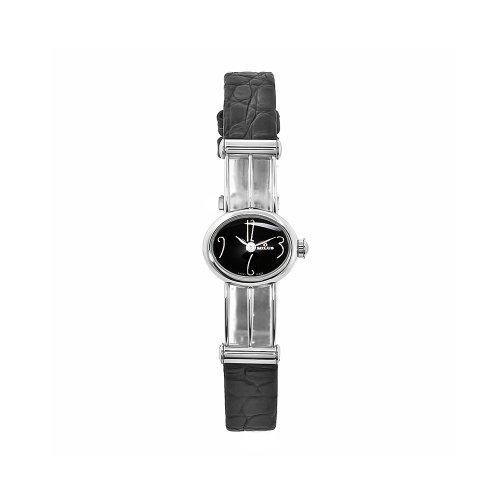 Milus Women's PER002 Persea Black Strap Black Numeral Dial Watch